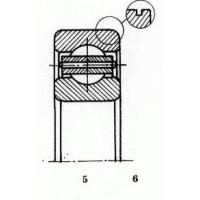 Чертеж подшипника 05-110 Д