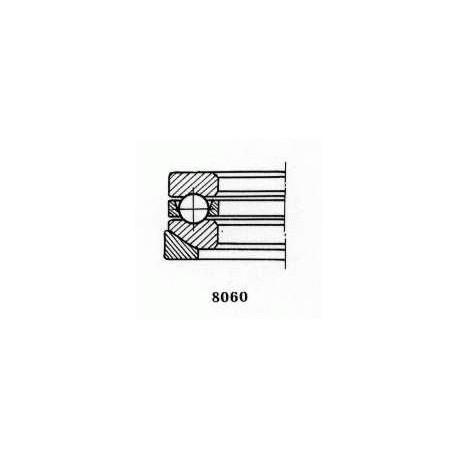 Чертеж подшипника 18206